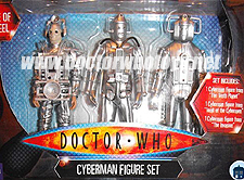 Tesco Cyberman Figure Set