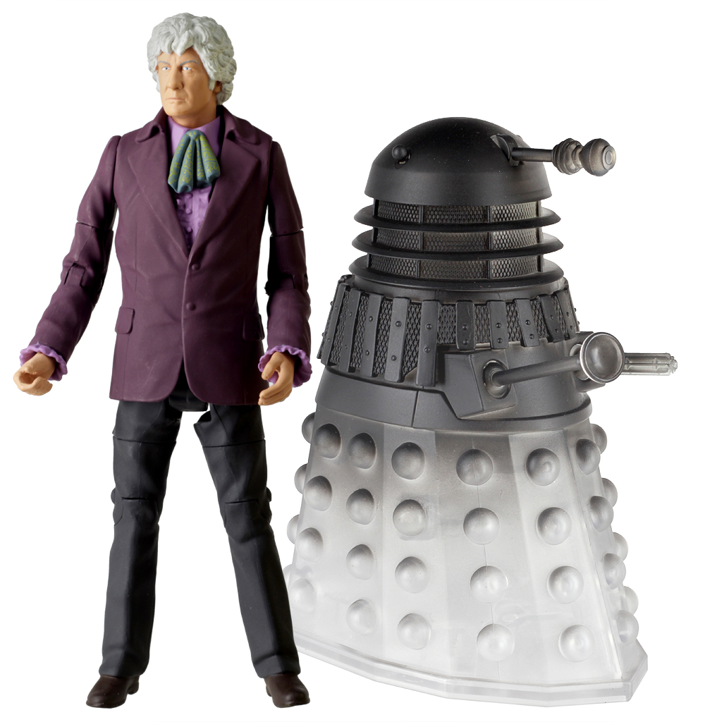 Third Doctor with Dalek