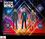 Third Doctor Three Figure Set