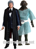 Third Doctor Jon Pertwee and Sea Devil