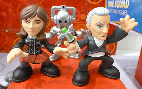 Time Squad Twelfth Doctor and Clara