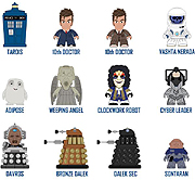 Titans Mini Vinyl Doctor Who Figures Wave 2 The Tenth Doctor