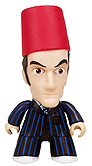 SDCC Titans Exclusive Tenth Doctor with Eleventh Doctor's Fez 3 Inch