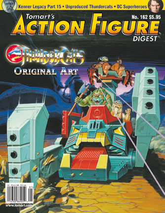 Tomart's Action Figure Digest No 162 - Front Cover copyright © Tomart Publications with permission
