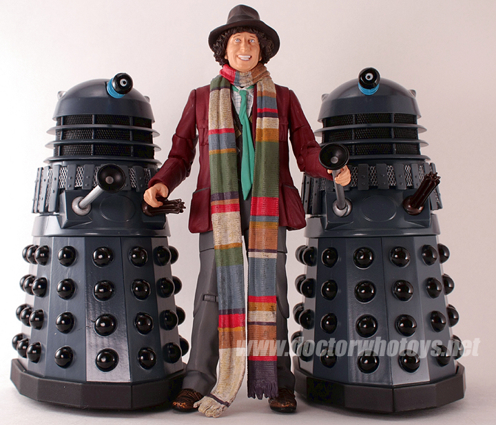 Doctor Who Classic Series Fourth Doctor in Genesis of the Daleks (1975)