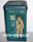 Tom Baker Money Box Tin  - Thanks Ian O