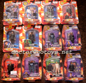 Set of Top Trumps Doctor Who Figures - Thanks PoshRescue