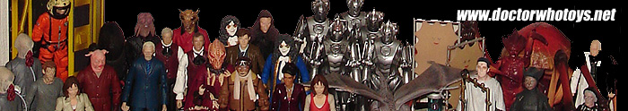 Lees Collection of Character Options Dr Who Figures