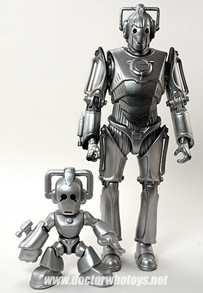 Time Squad & Doctor Who Action Figure Cyberman