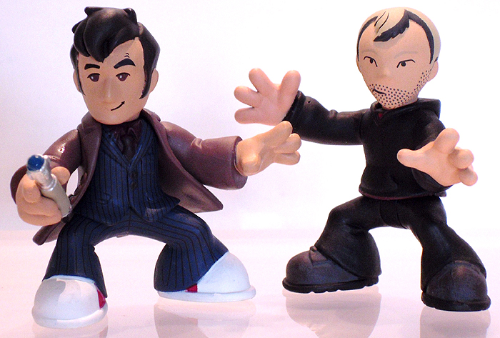 Timesquad 10th Doctor with Collect & Build Timesquad Master