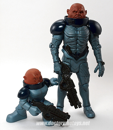 Time Squad & Doctor Who Action Figure Sontaran