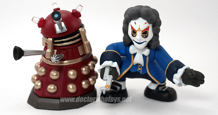 Time Squad & Doctor Who Action Figure Supreme Dalek