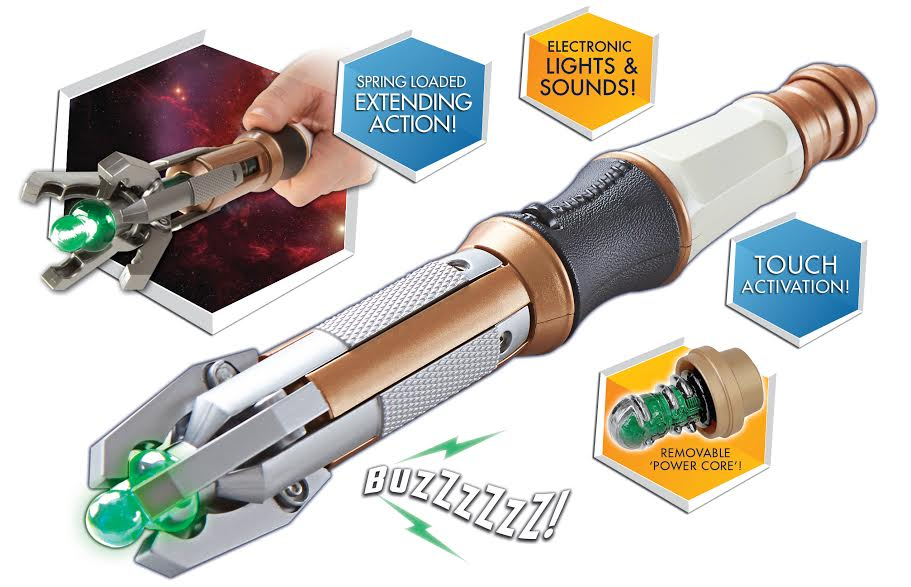 Twelfth Doctor's Touch Control Sonic Screwdriver