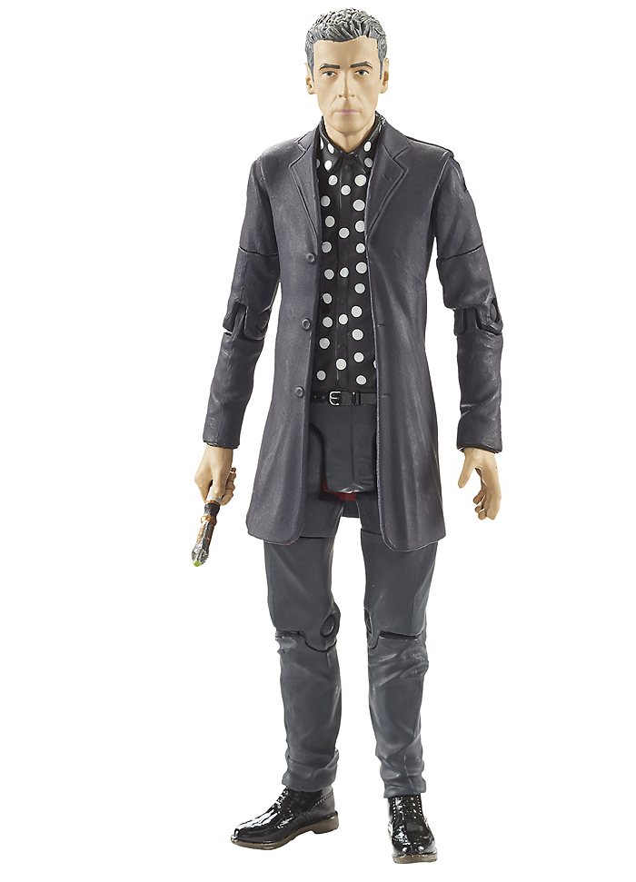 12th Doctor in Polka Dot Shirt