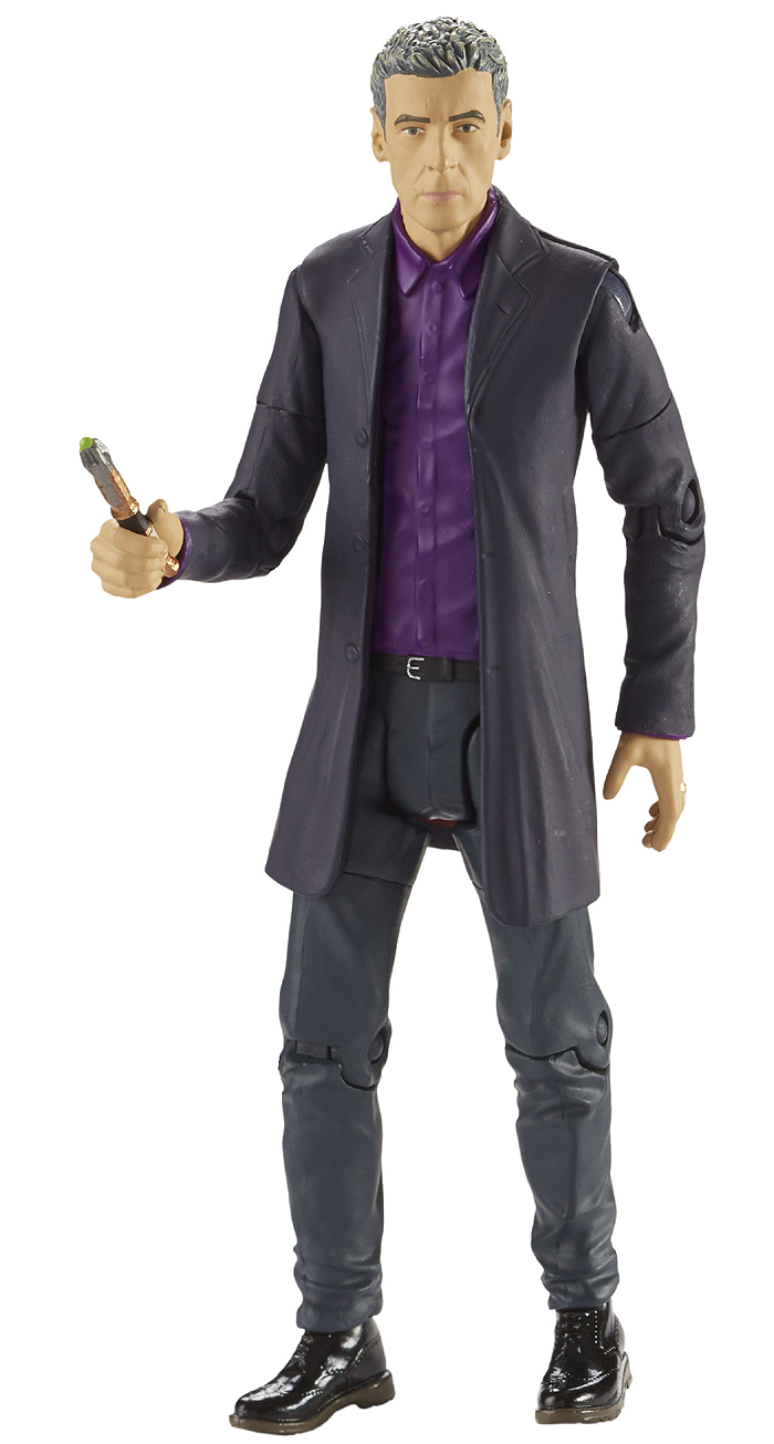 12th Doctor in Purple Shirt