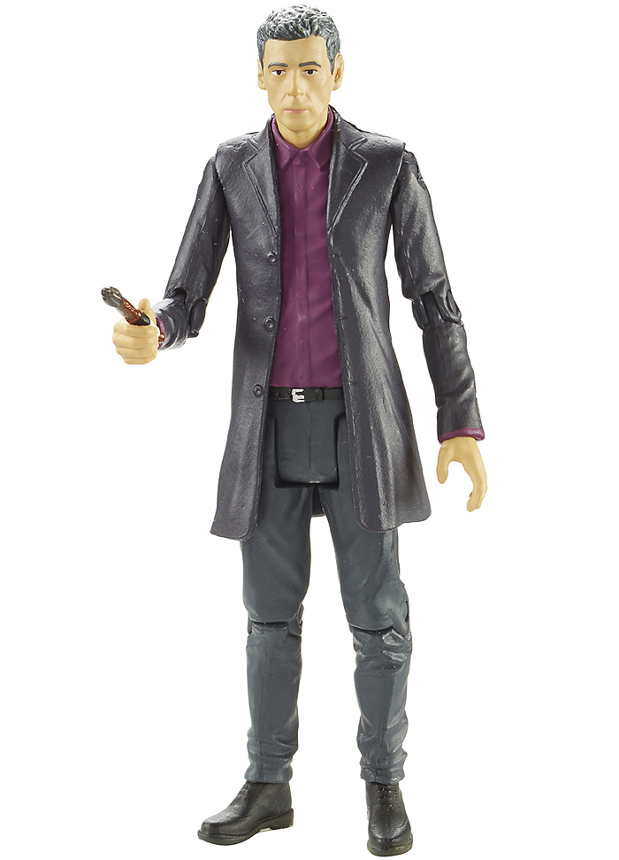 12th Doctor in Purple Shirt and Jacket