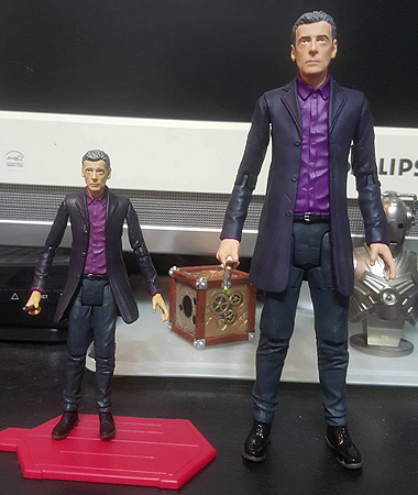 12th Doctor in Purple Shirt and Jacket 3.75 and 5 inch