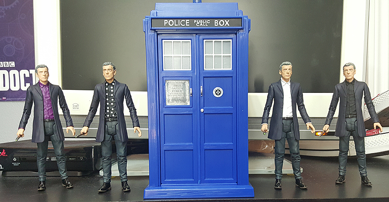 12th Doctor Variants and Tardis