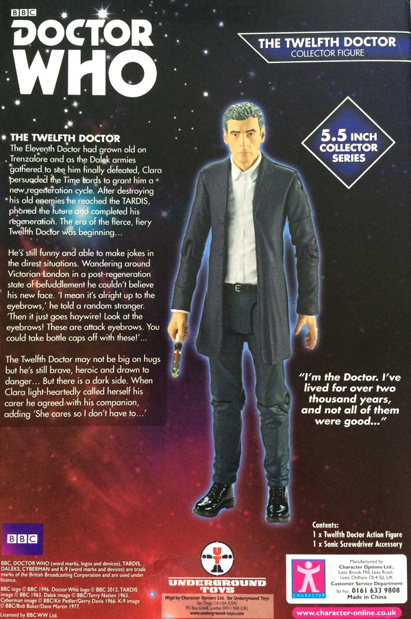 12th Doctor in White Shirt