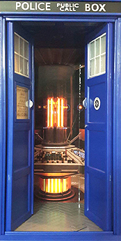12 Doctor Flight Control Tardis Interiror