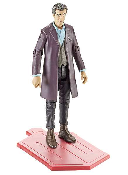 Twelfth Doctor Regenerated Wave 3A with red base