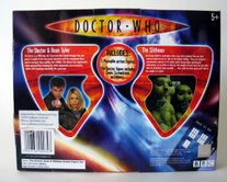 US version of The Doctor, Rose & Slitheen with Underground Toys label