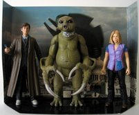 The Doctor, Rose & Slitheen US Underground Toys version