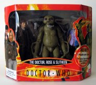 The Doctor, Rose & Slitheen (US Version)