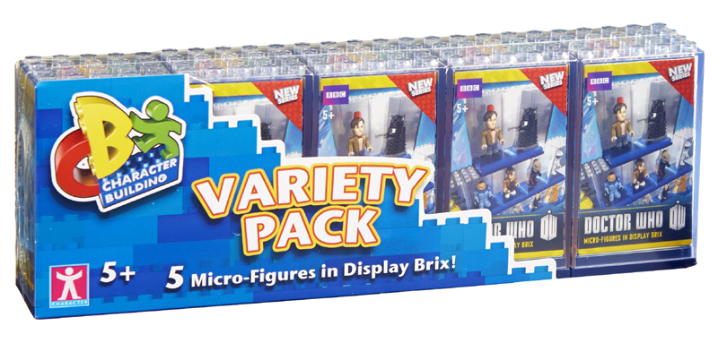Display Brix 5 Micro-Figure Variety Pack