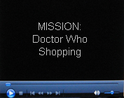 Doctor Who Toy Shopping