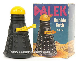 Water Margin Dalek Bubble Bath