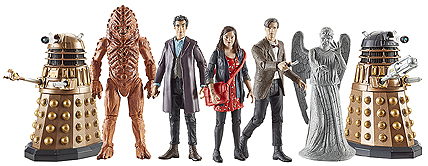 Wave 2 3.75 Inch Scale Doctor Who Figures