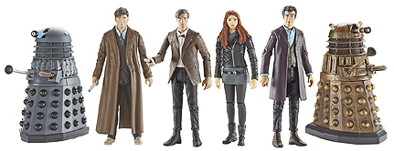 Wave 3A 3.75 Inch Scale Doctor Who Figures