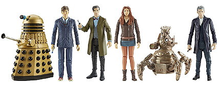 Wave 3B 3.75 Inch Scale Doctor Who Figures