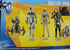 Wave 4a 3.75 Inch Scale Doctor Who Figures