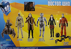 Wave 4b 3.75 Inch Scale Doctor Who Figures