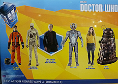 Wave 4c 3.75 Inch Scale Doctor Who Figures