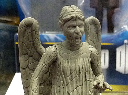 3.75 Inch Weeping Angel Screaming Figure