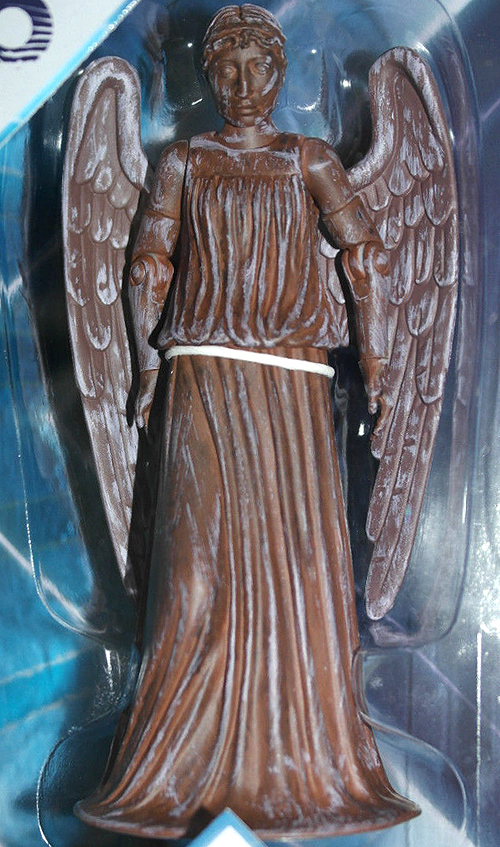 Weeping Angel (Red) in The Eleventh Doctor Collector Set