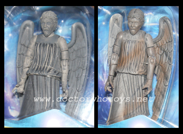 Weeping Angels Regenerated Standard Issue & Variant Comparison