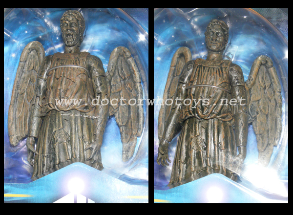 Weeping Angels Regenerating Standard Issue & Variant Comparison