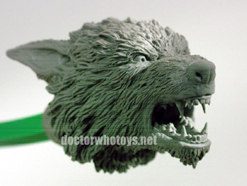 Werewolf In Progress - All images exclusively approved for use only on doctorwhotoys.net by Designworks, Character Options and BBC