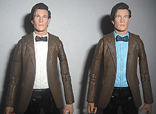 11th Doctor with White Shirt & Eleventh Doctor (Blue Shirt)