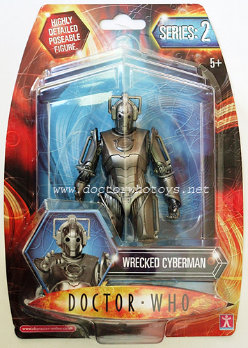 Wrecked Cyberman