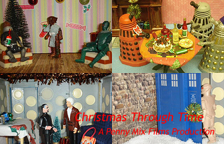 Screenshots from Christmas Through Time a Penny Mix Films Production